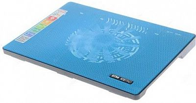 "Подставка для ноутбука 15"" Storm STM Laptop Cooling IP5 160x160  2xUSB синий"