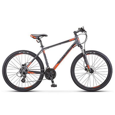 Велосипед Stels Navigator 630 D V010 2019 Антрацитовый\Красный (LU092182)