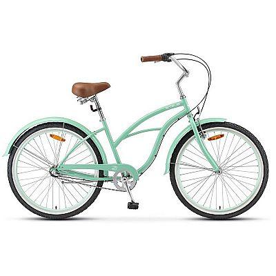 Велосипед Stels Navigator 130 Lady V010 Зеленый (LU093096) 34072