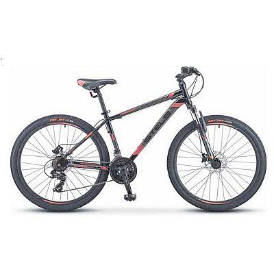 Велосипед Stels Navigator 500 D F010 Чёрный/Красный 26? 2019 (LU093937)