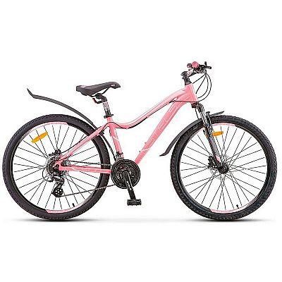 Велосипед Stels Miss-6100 D V010 2019 Светло-красный (LU091519)