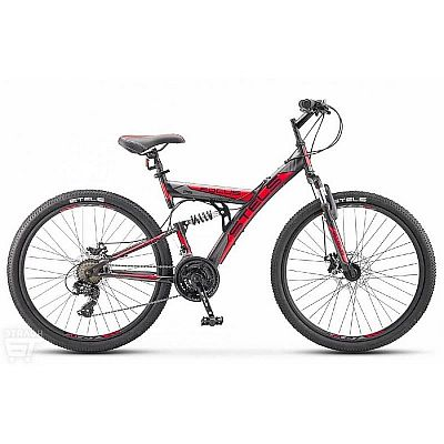 Велосипед Stels Focus 26 quot; MD 21 sp V010 Чёрный/Красный (LU088523) 26194