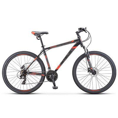 Велосипед Stels Navigator 700 D F010 2020 Чёрный\Красный 27.5? (LU093938)