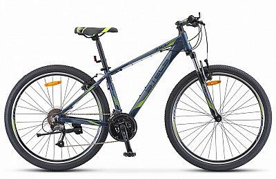 Велосипед Stels Navigator 710 V V010 Тёмно-синий 27.5? 2019 (LU092618)
