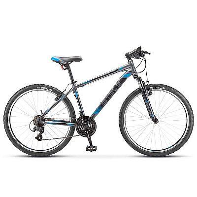 Велосипед Stels Navigator 500 V V030 Серый/синий (LU093441) 33280