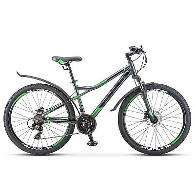 Велосипед Stels Navigator 610 D V010 2020 Антрацитовый\Зеленый 26? (LU093801)