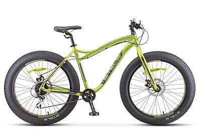 Велосипед Stels Aggressor D 26 quot; V010 Салатовый (FAT) 2019 (LU092497)