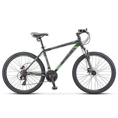 Велосипед Stels Navigator 500 D F010 Чёрный/Зелёный 26? 2019 (LU093937)