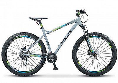 Велосипед Stels Adrenalin D 27.5 quot; V010 Серый 2019 (LU092620)