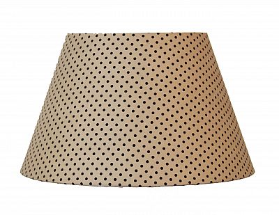 Абажур Lamplandia BEIGE WITH BLACK DOTS 7801-2