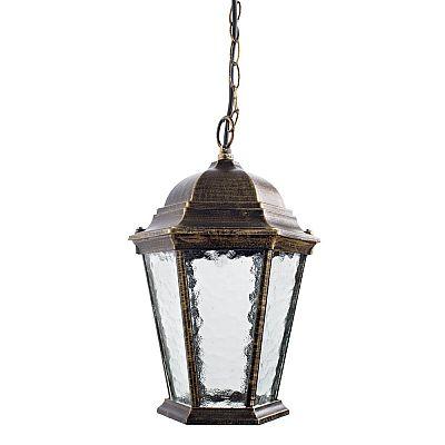 Уличный подвесной светильник Arte Lamp GENOVA A1205SO-1BN